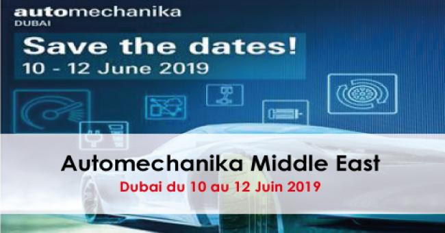 SALON AUTOMECHANIKA MIDDLE EAST 2019