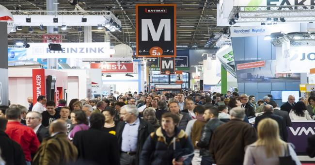 Salon internationale de la construction « Batimat »