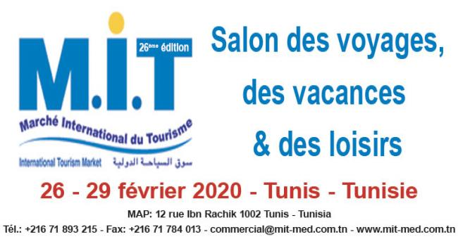 MIT - MARCHÉ INTERNATIONAL DU TOURISME 2020