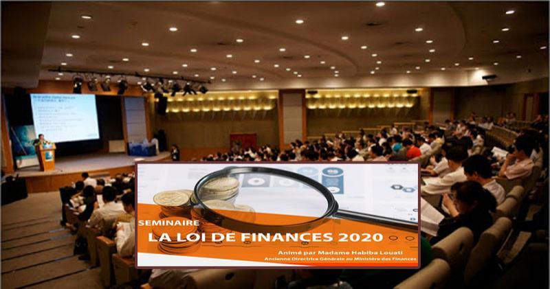Séminaire CCIC: les nouvelles dispositions de la loi de finances 2020 à la loupe!