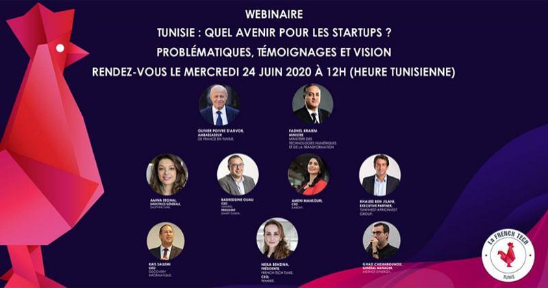 WebinaIre : Quel avenir pour les startups? Problématiques, Témoignages et Vision
