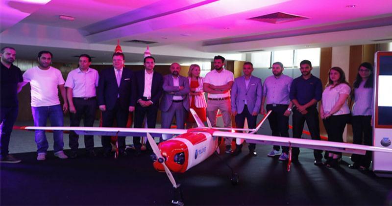 Phénix, le premier drone made in Tunisia dévoilé par TELNET HOLDING