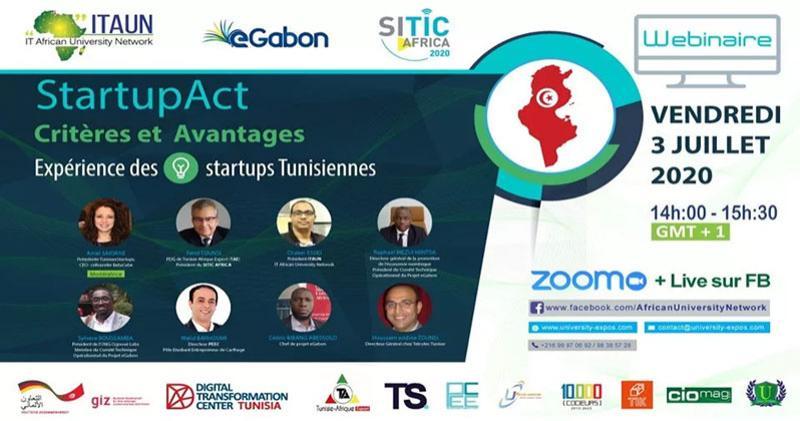 ITAUN / Webinar : Les critères et avantages du Startup Act