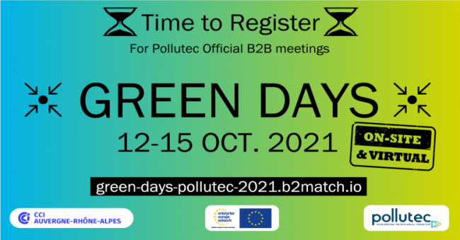 Pollutec & Virtual Green Days