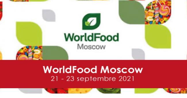 Participation tunisienne au salon World Food Moscou