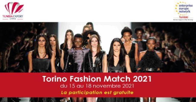 TORINO FASHION MATCH 2021_événement numérique