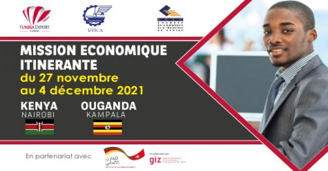 Mission Economique Itinérante  au Kenya (Nairobi) & Ouganda (Kampala)