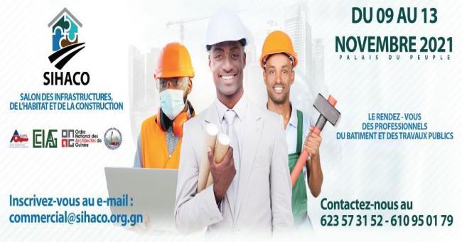 salon des infrastructures, de l'Habitat et de la Construction (CIGEX, Conakry)