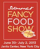 Fancy food show (FFS) 2013