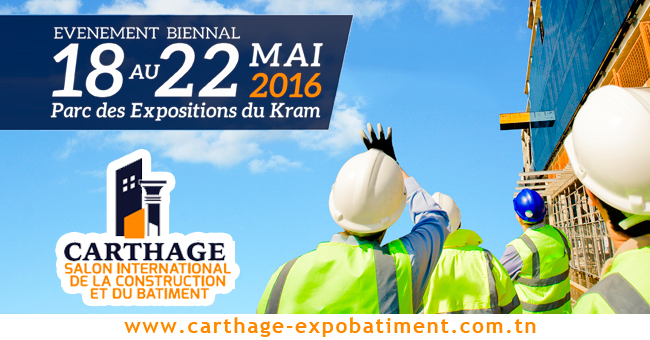 Salon de la Construction et du Bâtiment CARTHAGE 2016
