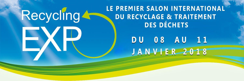 Le Premier Salon International du Recyclage & Traitement des Déchets