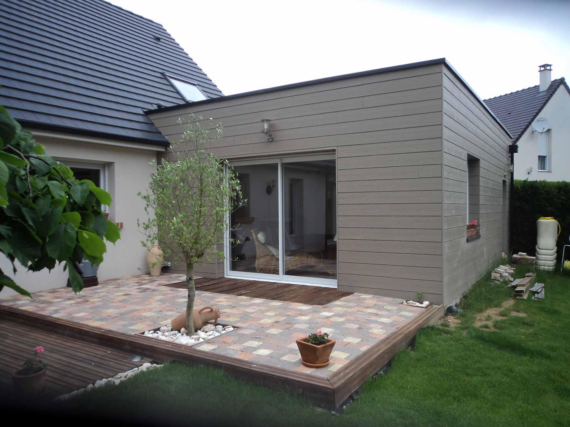 Devis Extension Maison à Colomiers ▷ Agrandissement Bois, Acier, Parpaing