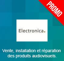 Electronica : Vente, installation et réparation des produits audiovisuels