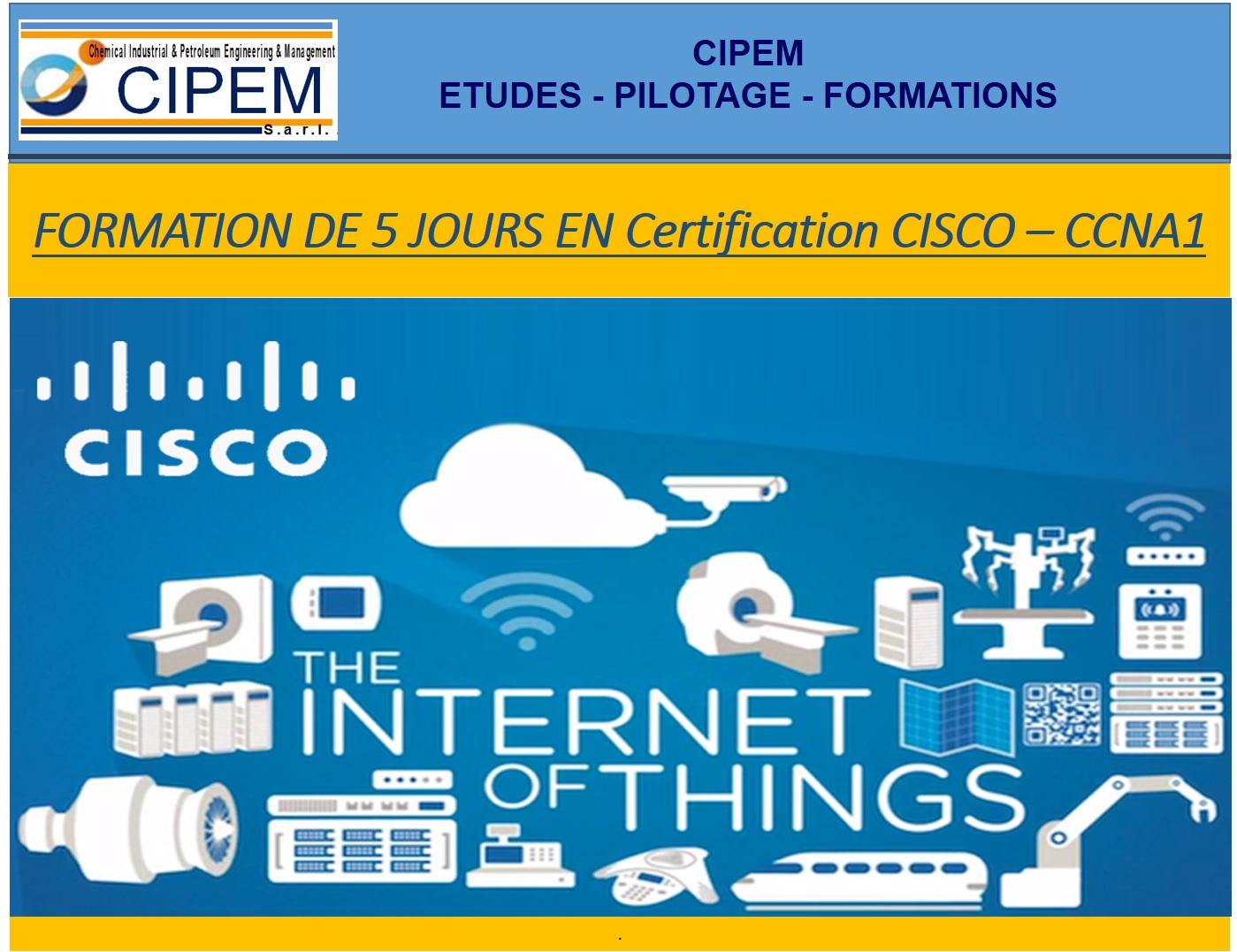 Certification CSICO – CCNA1
